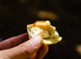 Pita, blue cheese, walnuts, and honey