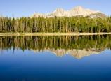 Moraine Lake reflections