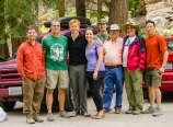 Our group at Whitney Portal