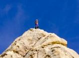Krysten at the top