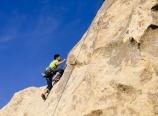 Ryan climbing the 5.8
