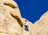 Rob conquering the chute