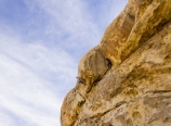 Krysten at the overhang