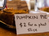 Self-serve pumpkin pie