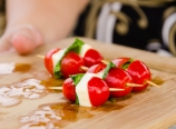 Caprese on sticks