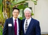 With my mentor, Dr. Ken Lane