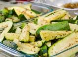 Seasoned zucchini