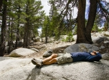 Napping in Little Round Valley