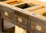 Fake drawer fronts