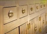 Drawers, close-up
