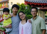 With the Zhao family