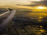 Flying into Bangkok