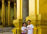 At the Emerald Buddha Temple