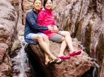 At Arizona Hot Springs