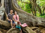 By the banyan roots