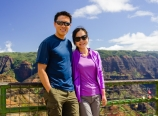 At the Waimea Canyon Lookout