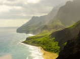 Na Pali coast and beach