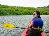 Paddling the Wailua River