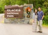 West entrance to Glacier National Park