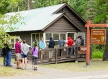 Wilderness permit line