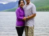 At Bowman Lake