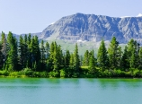 Swiftcurrent Ridge Lake