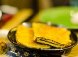 Seaweed tofu skin