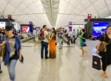 Among stranded travelers in Hong Kong