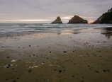 Sunset at Cape Cove and Heceta Head