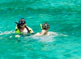 Snorkeling with Dad