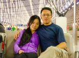 Waiting at Shanghai Pudong Airport