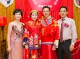 With parents