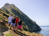 The guys' party on West Anacapa