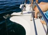 Retrieving the anchor