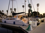 Docked at the Oxnard marina