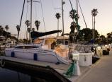 Docked at the Oxnard marina