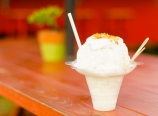 Coconut coconut coconut shave ice