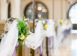 Aisle decorations