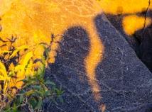 Shadows and petroglyphs