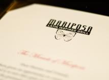 Mariposa menu