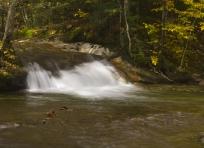 Franconia Notch Waterfall