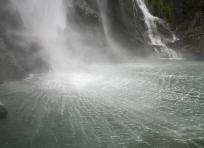 Spray from Stirling Falls