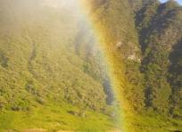 Rainbow at Palikū