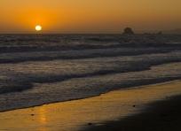 Sunset at Wildcat Camp