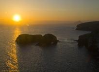 Sunrise over Scorpion Rock