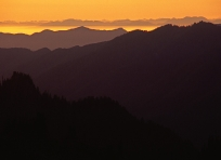 Sunset from High Divide Trail