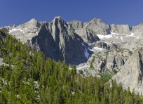 Black Divide and LeConte Canyon