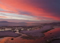 Salton Sea at Sunset
